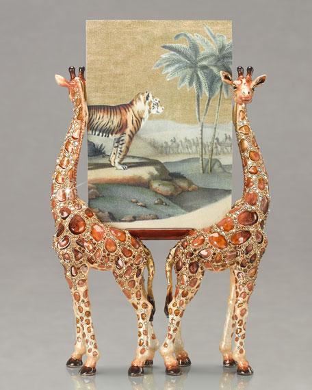 """Ethan & Joel"" Giraffe Frame"