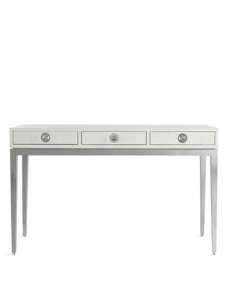"""Channing"" Three-Drawer Console"