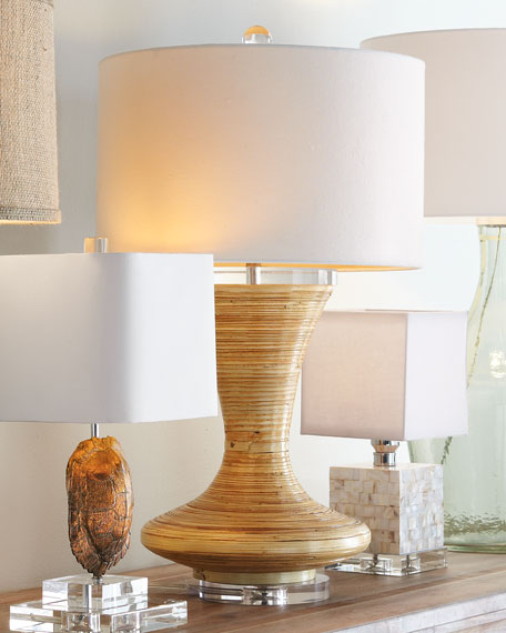 """Bamboo """"Genie"""" Lamp"""