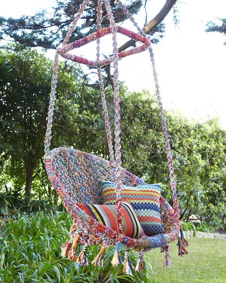 Multi-Color Swing Chair