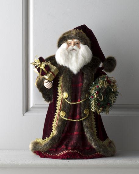 """""""Bordeaux"""" Santa, 18""""T"""