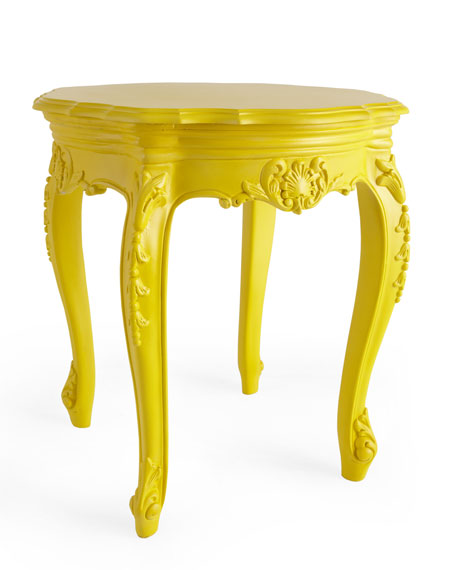 Outdoor Baroque Side Table