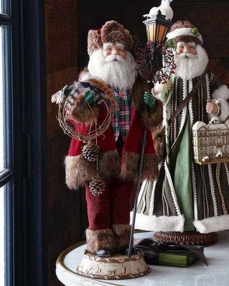 """""""Alpine"""" Santa Claus"""