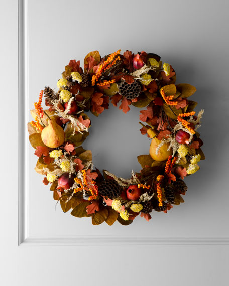 """Harvest"" Wreath"