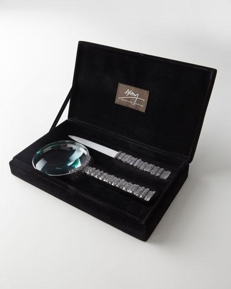Gotham Magnifying Glass Set