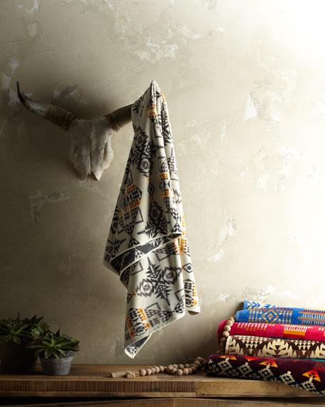Oversized Jacquard Spa Towel