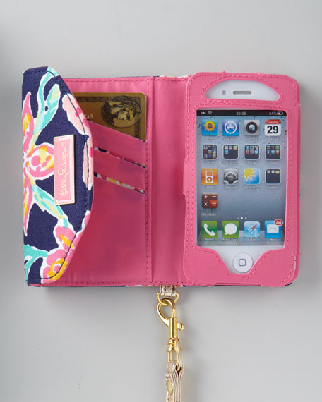 """Ring Me Up"" iPhone Wristlet"