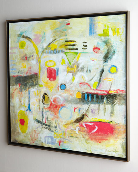 """Gratitude & Joy"" Abstract"