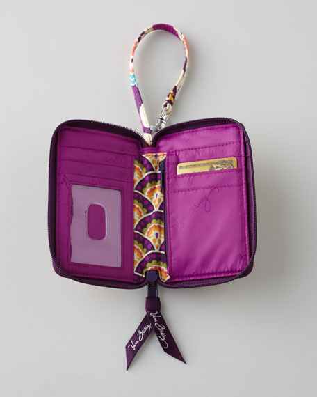 """Plum Crazy"" Carry It All Wristlet"