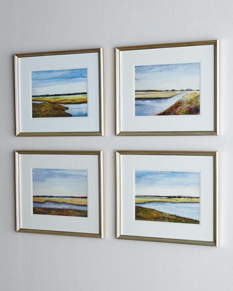 "Four ""Marshes"" Prints"