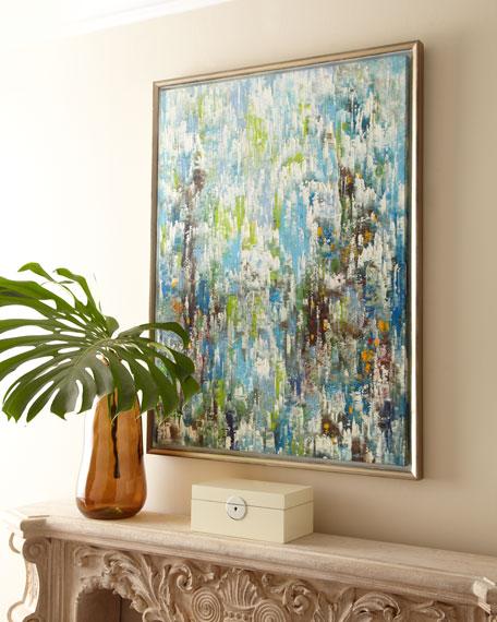 """Grandville Fountain"" Jinlu Oil Painting"