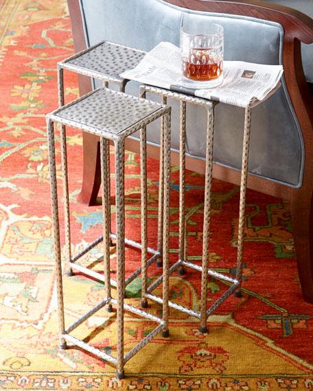 "Three ""Murl"" Martini Tables"