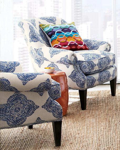 Blue Roxi Chair