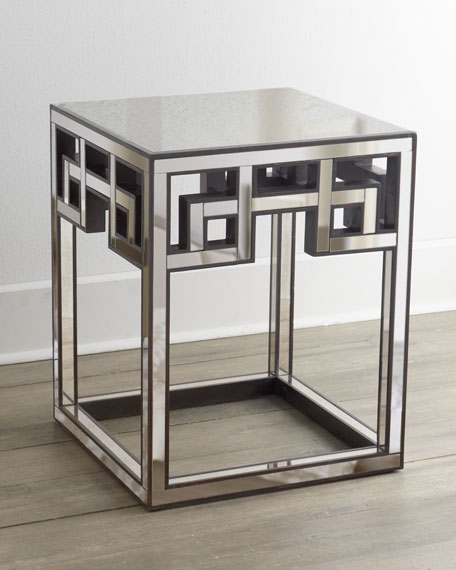 """Mia"" Fretwork Side Table"