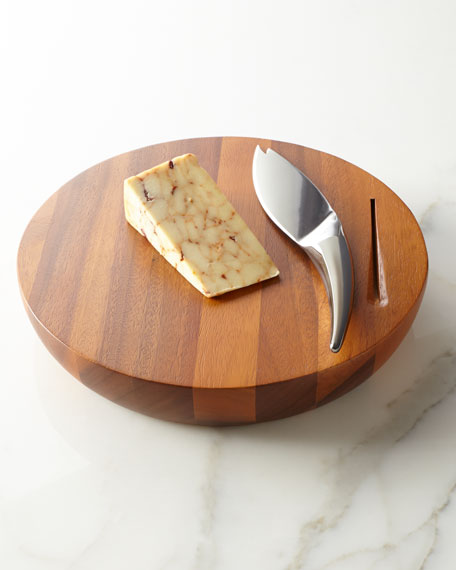 """""""Harmony"""" Cheese Board with Knife"""