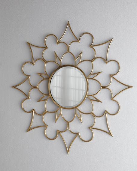 Starburst Clover Mirror
