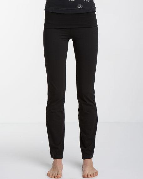 Foldover Yoga Pants