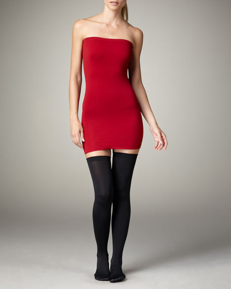 Fatal 80 Seamless Stay-Up Stockings