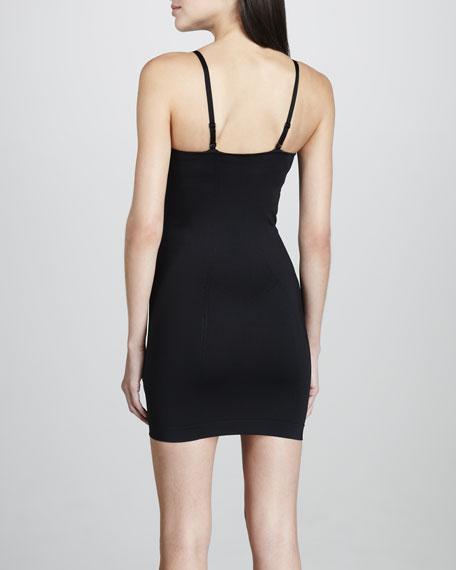 Shapewear Open-Bust Slip, Black