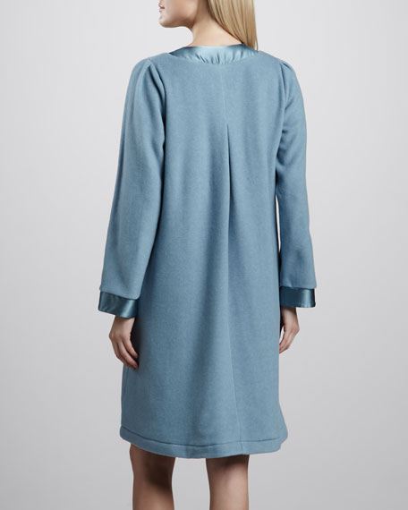 Michelle Short Swing Robe, Blue