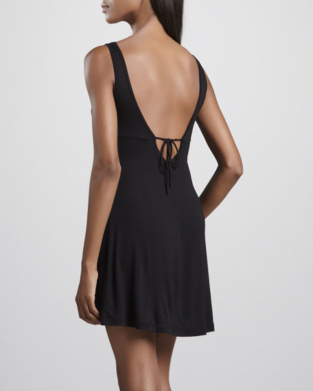 Looking 4 Love Sheer-Waist Chemise