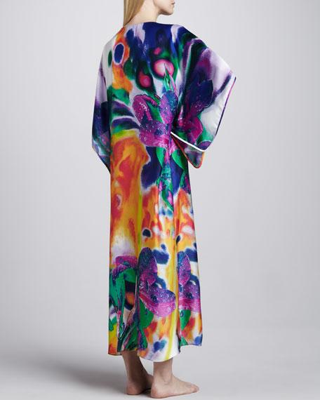 Sagala Floral-Print Caftan, Long