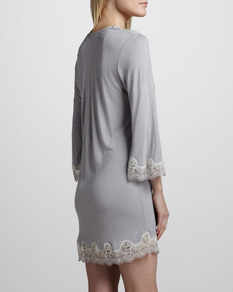 Lace-Trim Tunic