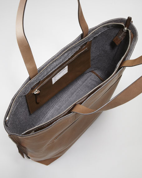 Dome-Pocket Medium Tote Bag