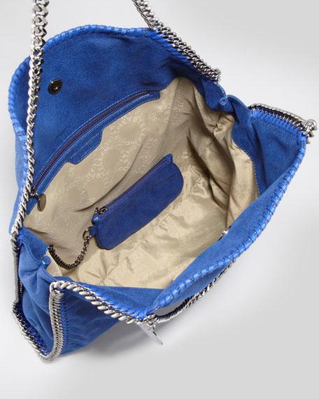 Falabella Large Tote Bag, Ink Blue
