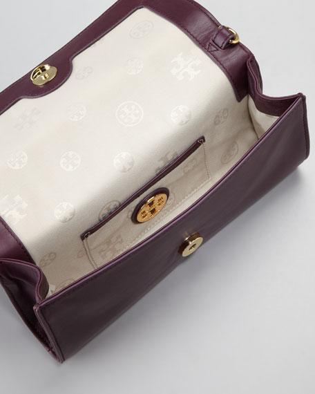 Bombe Clutch Bag, Plum