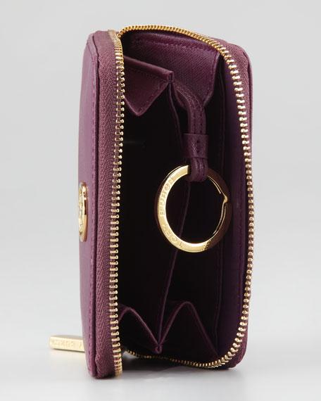 Robinson Zip Coin Case, Pretty Violet