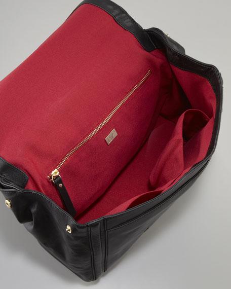 New Harper Charlotte Leather Bag, Black