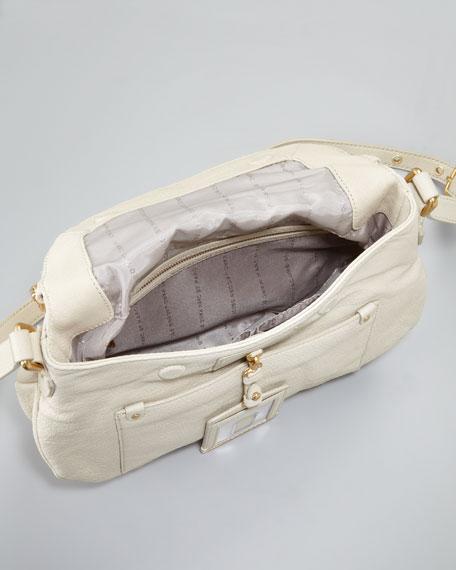 Preppy Natasha Crossbody Bag, Beige