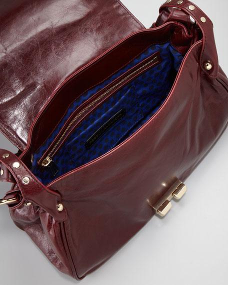 Endless Love Basketweave Satchel Bag