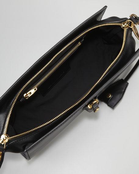 Pelican Clutch Bag, Black