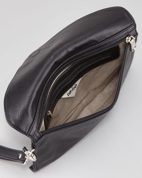 Ryder Zip-Trim Wristlet Bag, Black