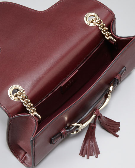 Emily Evening Bag, Maroon