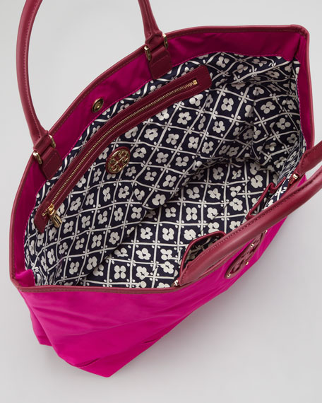 Logo Tech-Fabric Tote Bag