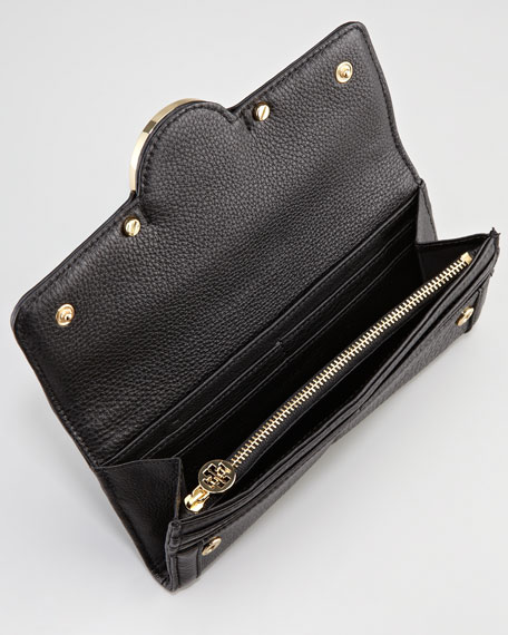 Amanda Continental Wallet, Black