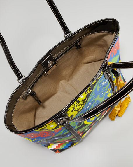 Jesse Tropical Tote Bag, Floral