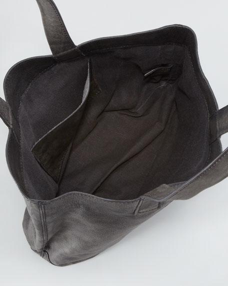 Skull Tote Bag, Black