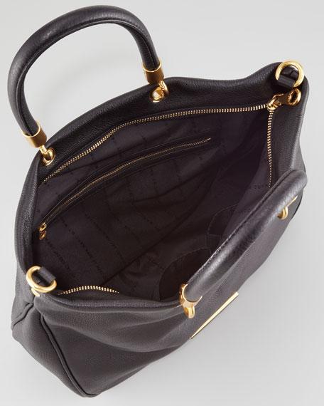 Too Hot to Handle Mini Tote Bag, Black