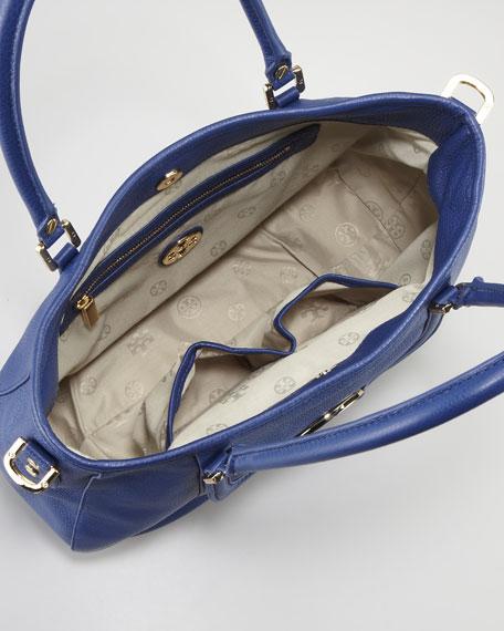 Amanda Classic Hobo Bag, Indigo