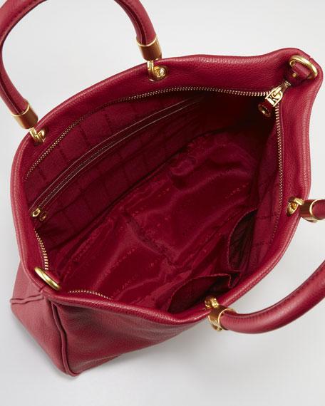 Too Hot to Handle Mini Tote Bag, Lipstick Red