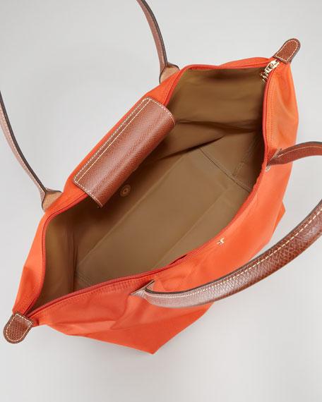 Le Pliage Large Shoulder Tote Bag, Paprika