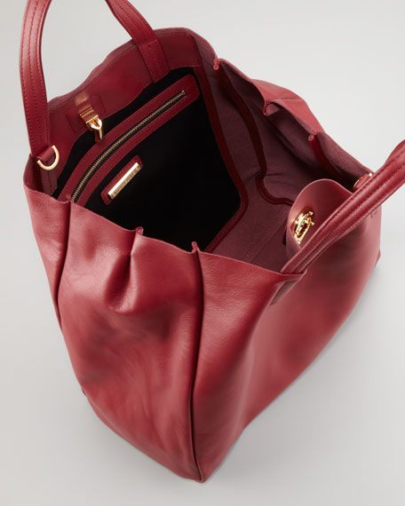 Eve Day Tote Bag, Scarlet Red