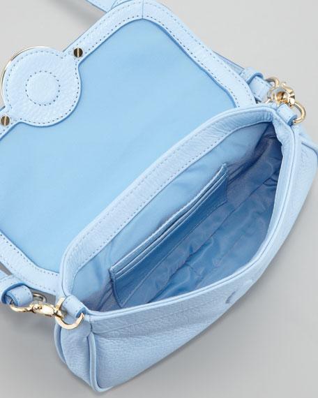 Amanda Classic Crossbody Bag, Light Blue