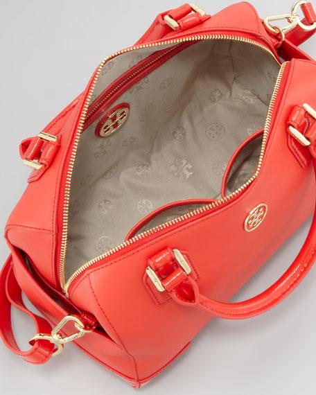 Robinson Middy Satchel Bag, Poppy Red