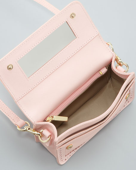 Robinson Spectator Mini Crossbody Bag, Pink