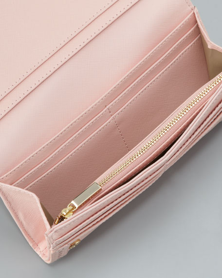 Robinson Spectator Envelope Wallet, Pink Shell